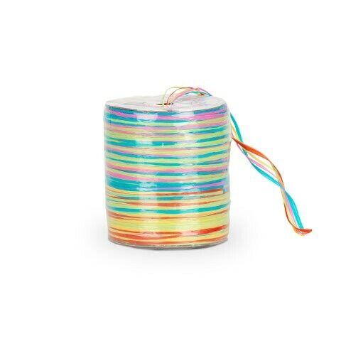 NaDeco Raffia Multicolour Bast 10 Farben Geschenkband Dekoband Schleifenband