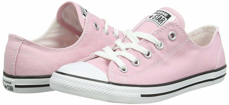 Women Converse Chuck Taylor Dainty Ox Low Top Sneaker, 549615C Size 5 Pink
