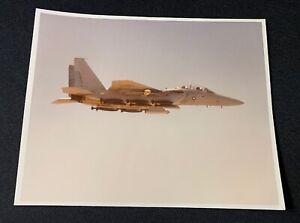 McDonnell-Douglas-F-15-Prototype-in-Flight-Color-Photograph