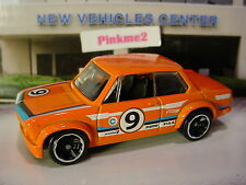 2012 Hot Wheels BMW 2002☆Orange/Gray/Blue;9☆☆Loose New Model☆1:64