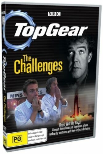 1 of 1 - Top Gear - The Challenges (DVD, 2007)