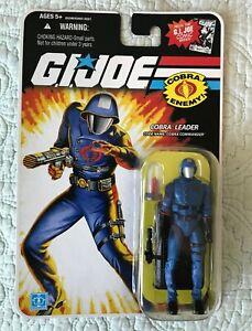 GI Joe Cobra Enemy 25th anniversary Cobra Commander w/Jar, 2008, NEW MOC!