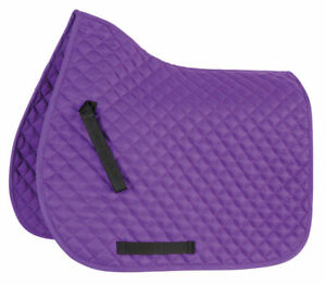Shires-Wessex-Diamond-Quilted-Saddlecloth-Saddle-Pad-All-Sizes-amp-Colours