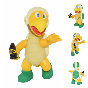 SUPER MARIO BROS BROTHERS Mushroom MOVABLE ACTION FIGURE FIGURINE TOAD yellow