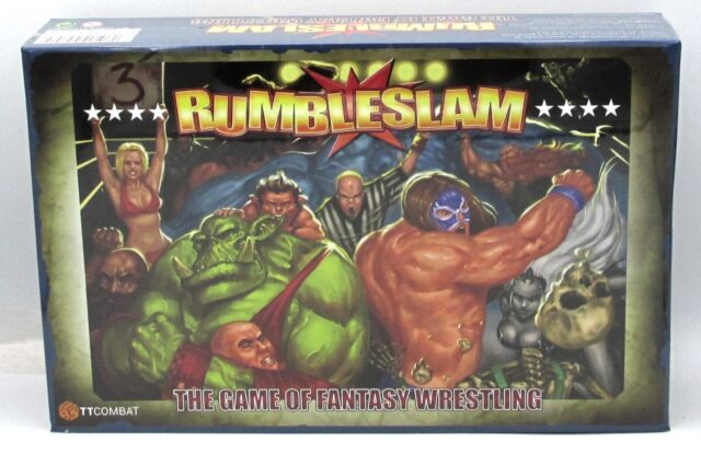 Rumbleslam Fantasy Wrestling 2 Player Starter