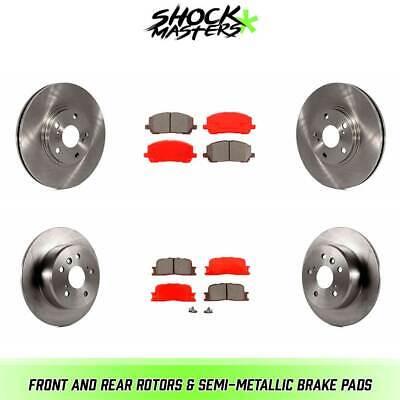 2001 2002 2003 For Toyota Highlander Rear Semi Metallic Brake Pads
