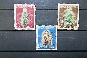 LOTTO-FRANCOBOLLI-ITALIA-REPUBBLICA-1950-034-TABACCO-034-SERIE-TIMBRATA-C-A