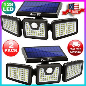 2 Pack Solar Security Outdoor 800lm Led, Motion Sensor Lights Outdoor South Africa