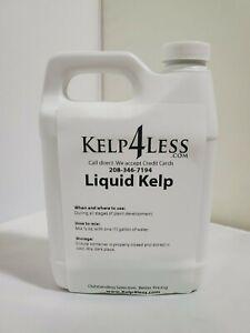 ORGANIC-KELP-SEAWEED-LIQUID-32-oz-Fertilizer-1-QUART-Free-Ship-MICRO-NUTRIENTS