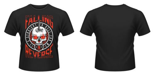Nouveau Officiel Falling in Reverse-Straight To Hell T-Shirt