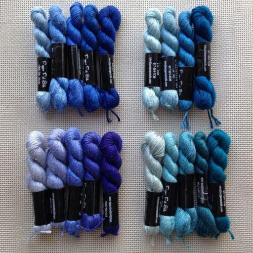 Planet Earth pepper pot un seul brin Silk Threads 4 Collection Set Bleu