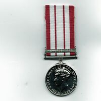 Naval General Service Medal with Clasp Yangtze 1949. GV1  Repro
