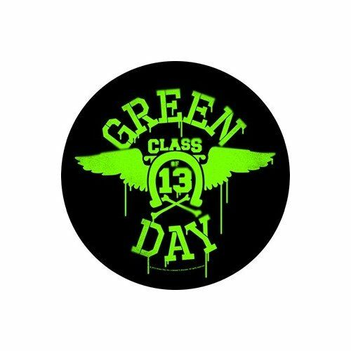 GREEN DAY Back Patch Toppa Gigante Neon Wings OFFICIAL MERCHANDISE