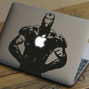 Details about IRON MAN Apple MacBook Decal Sticker fits 11