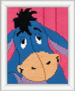 1x-Long-Stitch-Kit-Disney-Eeyore-Sewing-Craft-Tool-Hobby-Art-UK-Bulk-Filoro