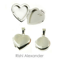 Sterling Silver Or Vermeil Round Oval Heart Locket With Greek Sorority Letters