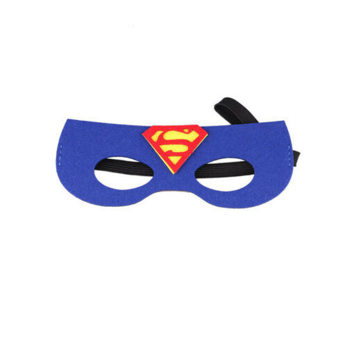 Kinder Mädchen Jungen Spiderman Batman Superman Augenmasken Maske Cosplay Party