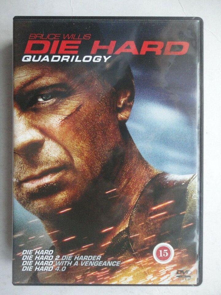 DIE HARD Quadrilogy, instruktør BRUCE VILLIS, DVD