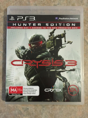 1 of 1 - crysis 3 hunter edition ps3 playstation 3 game