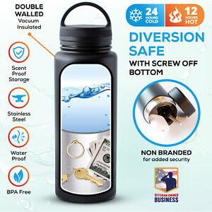 Stainless-Steel-Tumbler-Diversion-Safe-Water-Bottle