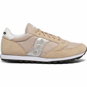 Saucony-S2866-269-Men-039-s-Jazz-Low-Pro-Sneakers-Tan-Silver-US-11