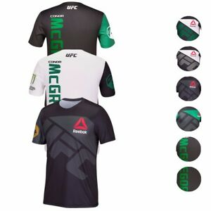 Conor McGregor REEBOK UFC Fight Kit Walkout Champion Jersey Collection Men's