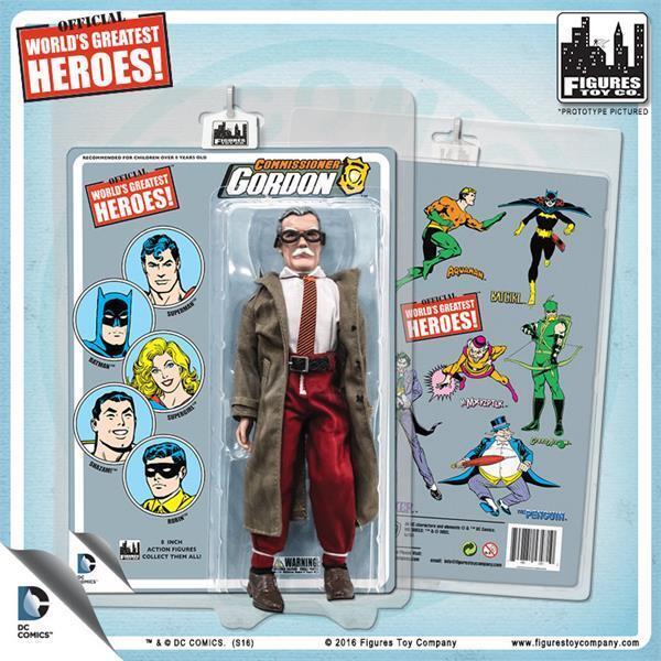 Batman Gotham JIM GORDON 8  Figure Retro-100 LIMITED EDITION DC Comics NEW