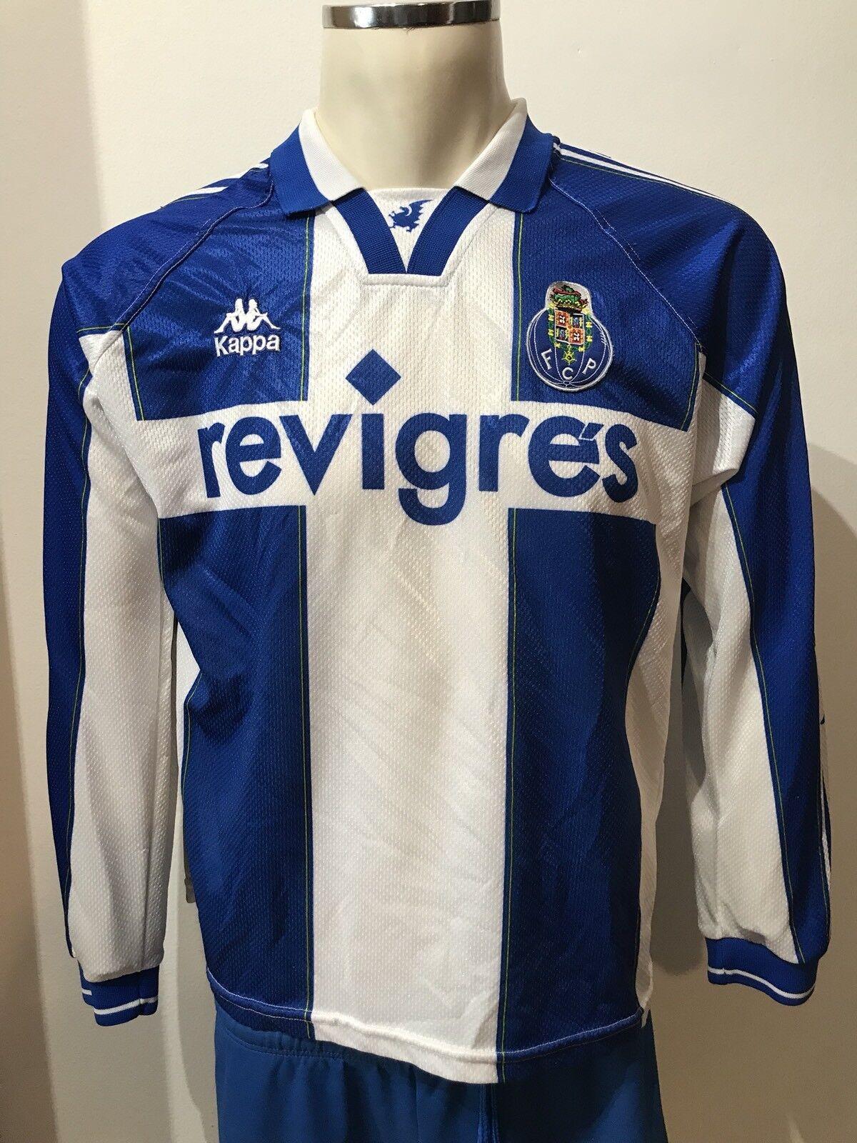 CAMISETA VINTAGE FC OPORTO size M SHIRT 1997 1998 MANGA LARGA