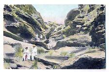 K 155 - DSWA Fels-Scenerie im Gebirge bei WIndhuk, 1907 gelaufen