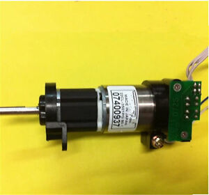 Servo Gear Motor Dc 12v 120rpm Gearmotor With Encoder Ebay
