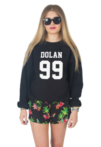 Dolan 99 Sweater Top Jumper Sweatshirt Fashion Fangirl Twins Brothers Ethan