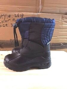 380f8b29f1c8 Brand New Boys Snow Boots Winter Navy Black Toddler(6-10) Little ...