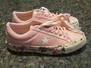 Star Ox Girls Sneakers Pink Floral
