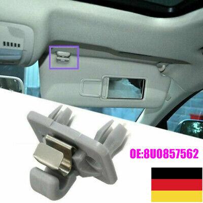 Hochwertige 2 Stück Sonnenblendenclip Hakenhalter für Audi A5 Q5 13 14 15