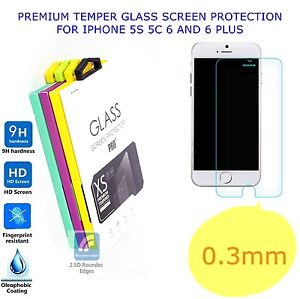PREMIUM-REAL-TEMPER-GLASS-SCREEN-PROTECTOR-FOR-IPHONE-5-5S-5C-6-6S-7-8-PLUS