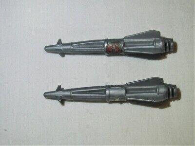 GI JOE véhicule Cobra Night Raven 1986 missile bombe pièce d/'origine