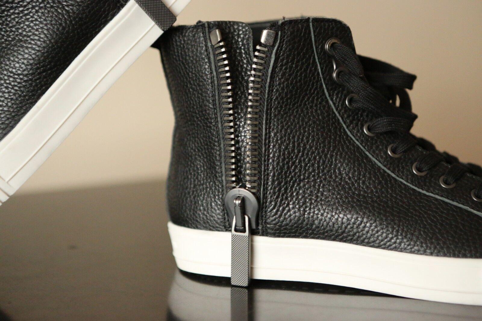 Calvin Klein Zapatos John S0399 Negro Leather Zapatos Klein Hombre Talla 56f74f
