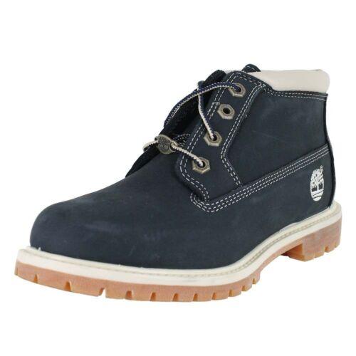 Nellie 5 Uk medio Timberland Original 41 azul Nubuck Chukka Nuevo Eu 8 Boot U5Wwxvq