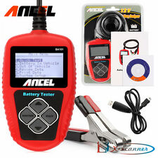 12V Auto Car Battery Load Tester Analyzer Cranking Start 100-2000CCA Ancel BA101