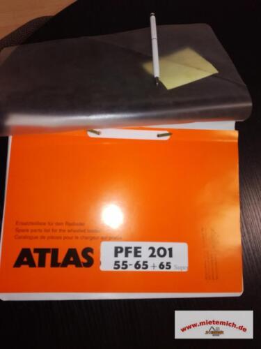 Ersatzteilliste Radlader ATLAS AR55,65,65 Super Ersatzteilkatalog Teileliste geb