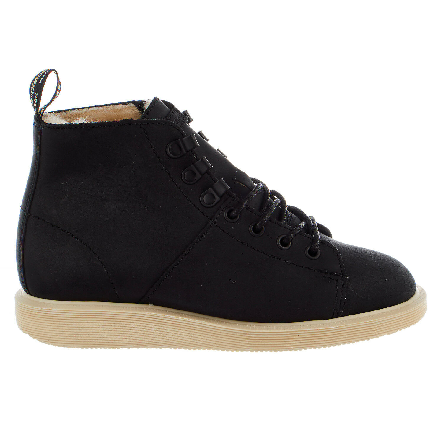 Dr. Martens Fur Lined Les Boot Lace Up Winter shoes - Womens