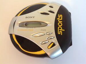 Sony-Sports-Cd-Walkman-D-SJ15-With-Strap-For-Parts-As-Is
