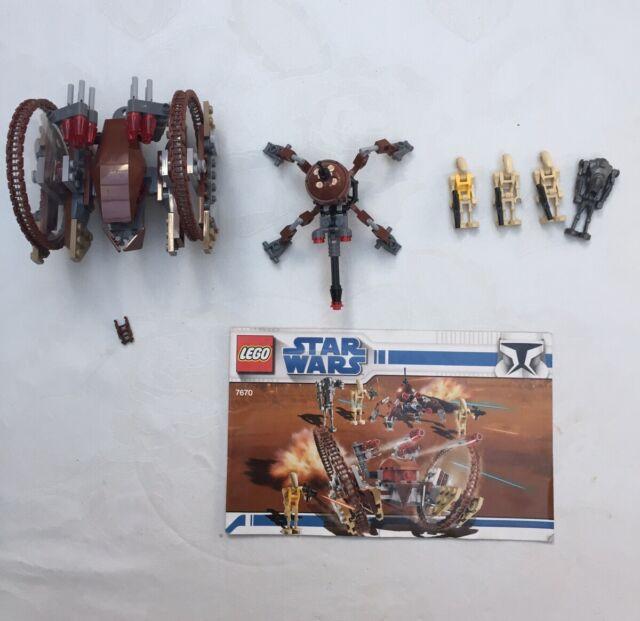 Hailfire Droid Lego Star Wars 4481 With
