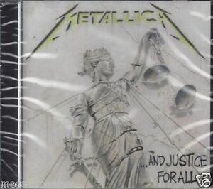 CD-Compact-disc-METALLICA-AND-JUSTICE-FOR-ALL-nuovo-sigillato