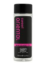Olio da massaggio Hot Massage Sweet Oriental 100 ml Sexy Shop toys cura corpo