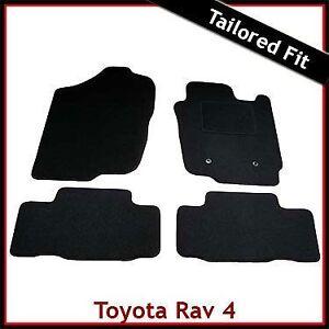 Toyota-RAV4-Mk3-XA30-2006-2012-Tailored-Fitted-Carpet-Car-Floor-Mats-BLACK