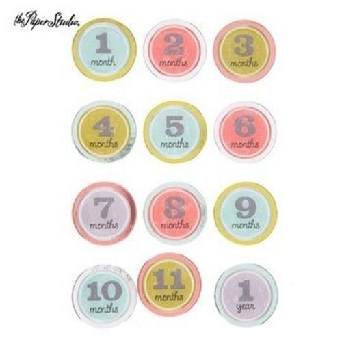 Baby Ages Months 3d Baby Stickers