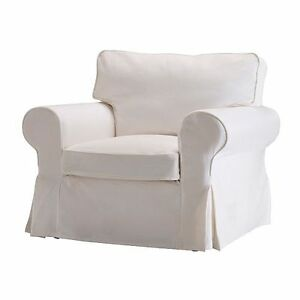 Details About Ikea Ektorp Armchair Complete Cover Blekinge White Removable Washable Hardwearin