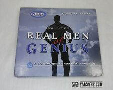 Bud Light REAL OF MEN GENIUS 3 Disc Set SPORTS COMEDY Radio Ads ESPN 2005