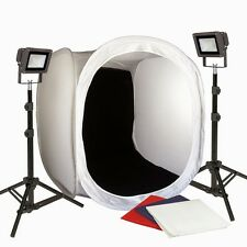 Photo Tent Table Top  30in LED Light All Metal Body Steve Kaeser Photographic